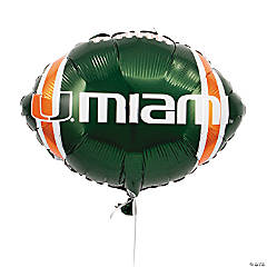 NCAA™ Miami Mylar Balloon
