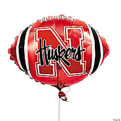 NCAA™ Nebraska Mylar Balloon