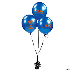 NCAA™ Illinois Latex Balloons