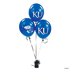 NCAA™ Kansas Latex Balloons