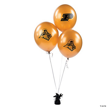NCAA™ Purdue Latex Balloons