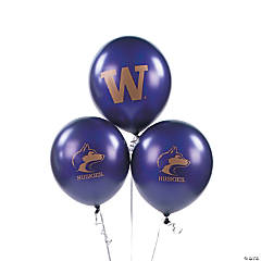 NCAA™ University Of Washington Latex Balloons
