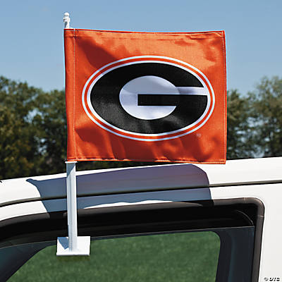 NCAA™ Georgia Car Flag