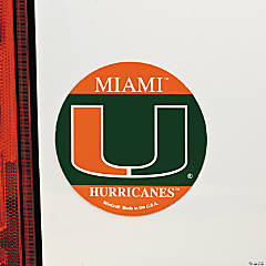 NCAA™ Miami Car Magnet