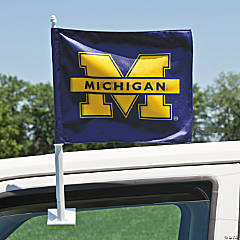 NCAA™ Michigan Car Flag