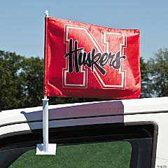 NCAA™ Nebraska Car Flag