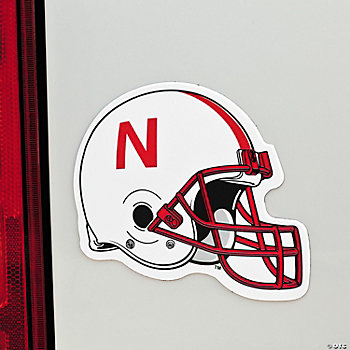 NCAA™ Nebraska Car Magnet