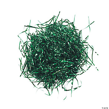 Foil Metallic Strands - Green