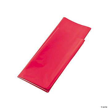 Foil Metallic Gift Wrap Sheets - Red