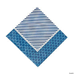 Nautical Wedding Luncheon Napkins