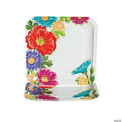 Love In Bloom Wedding Dinner Plates