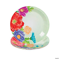 Love In Bloom Wedding Dessert Plates