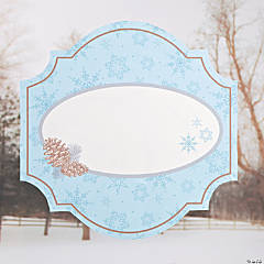 Personalized Winter Enchantment Window Cling