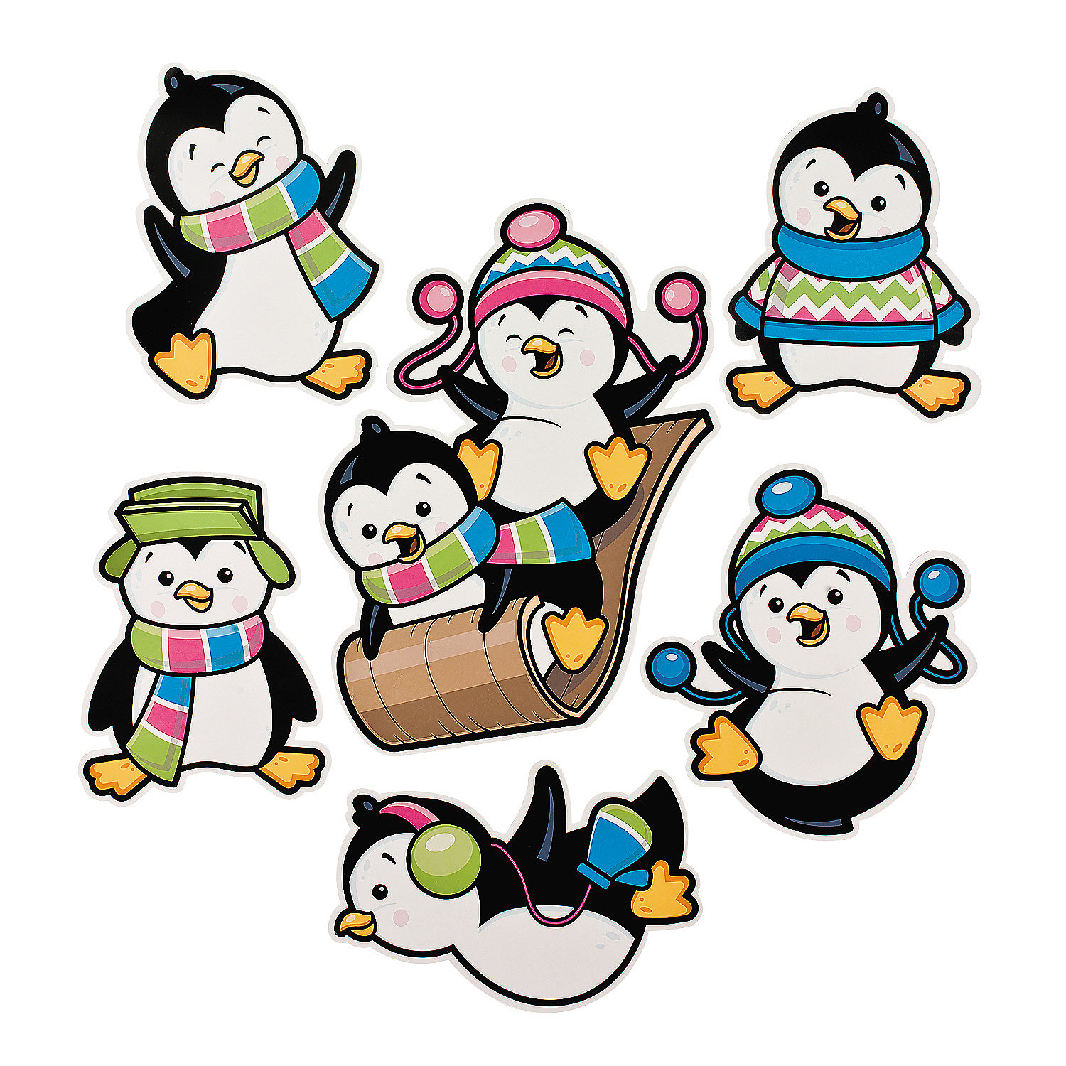 Penguin party cutouts oriental trading