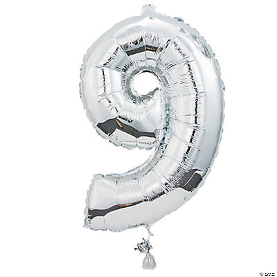 """9"" Shaped Mylar Balloon"
