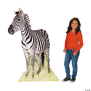 Safari Zebra Standup