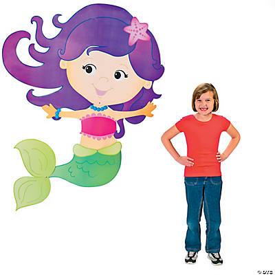 Mermaid Jointed Cutout