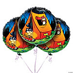 Camp Adventure Mylar Balloon Set