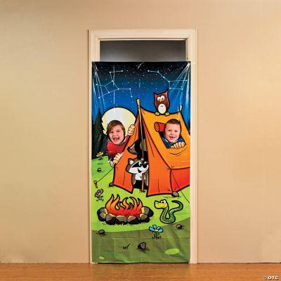 Camp Adventure Photo Door Banner
