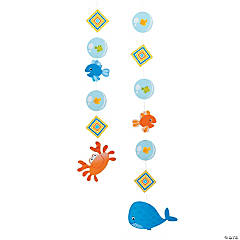 Under the Sea Boy Hanging Cutouts