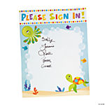Under The Sea Baby Shower Sign In Banner