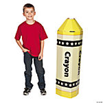 3D Crayon Stand-Up