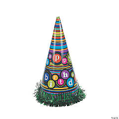 Birthday Cone Hats