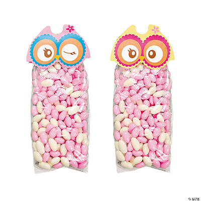 You're A Hoot Owl Treat Bags with Header Cards