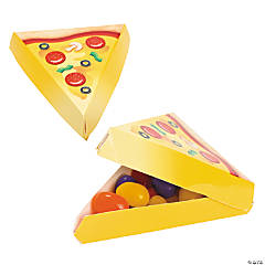 Mini Pizza Party Favor Boxes