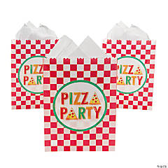Pizza Party Treat Bags