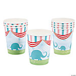 1st Birthday Circus Cups