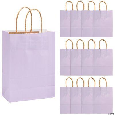 Lilac Medium Kraft Paper Bags