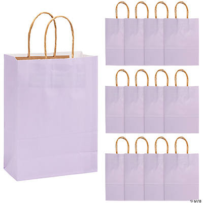 Medium Lilac Craft Paper Bags