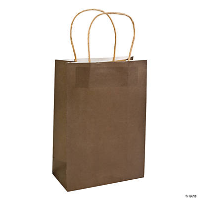 Medium Chocolate Craft Paper Bags