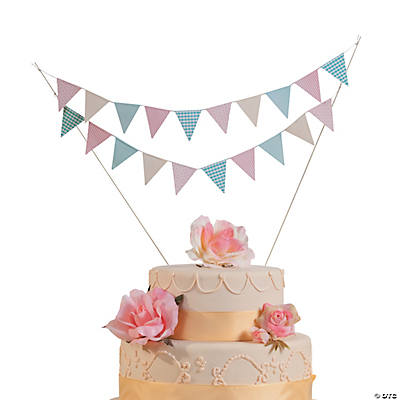 Vintage Collection Wedding Cake Bunting