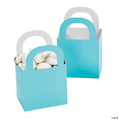 Light Blue Favor Gift Baskets