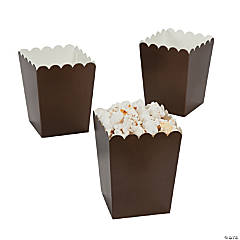 Mini Chocolate Popcorn Box