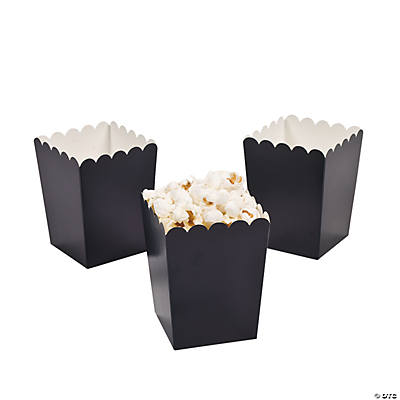 Mini Navy Blue Popcorn Boxes - Oriental Trading - Discontinued