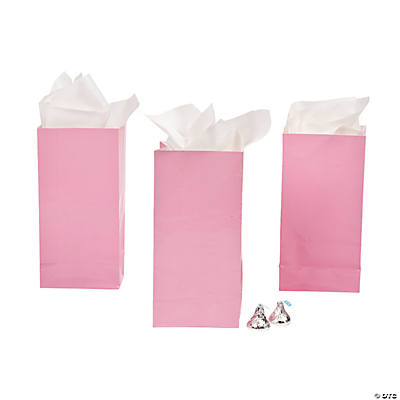 Mini Light Pink Treat Bags
