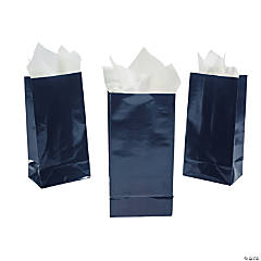 Navy Mini Treat Bags