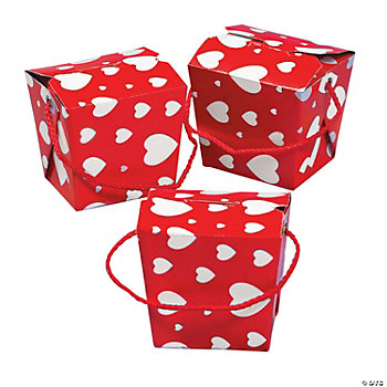 Valentine Boxes With Handles