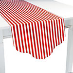 Red Reversible Table Runner