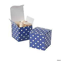 Purple Polka Dot Gift Boxes