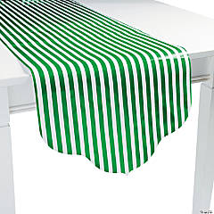 Green Reversible Table Runner