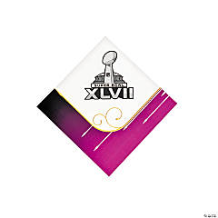Super Bowl XLVII 2013 Beverage Napkins