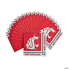 NCAA™ Washington State University Cougars Beverage Napkins