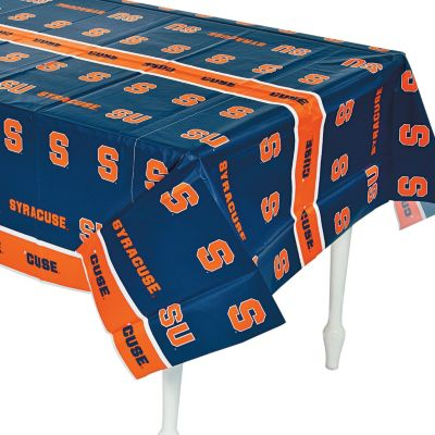 Quickview · Image Of NCAA™ Syracuse Orange Plastic Tablecloth With  Sku:3/5650