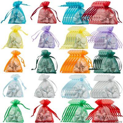 Mini Organza Drawstring Bags