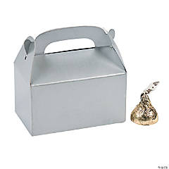 Mini Silver Treat Boxes