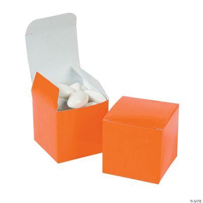 Mini Orange Gift Boxes